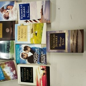 Collection of Nicholas Sparks paperback books